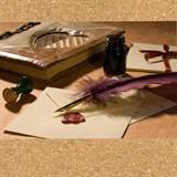 Чернила, бумага, перья