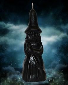 Свеча Ведьмина сила черная - фото 10050