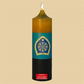 Колесо жизни  свеча Будды - фото 10074