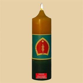 Волшебство мироздания  свеча Будды - фото 10075