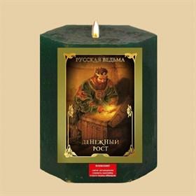 Денежный рост  травяная свеча - фото 10143