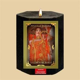 Защита ведьмы  травяная свеча - фото 10145