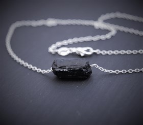 Кулон Шерл в серебре - фото 10369
