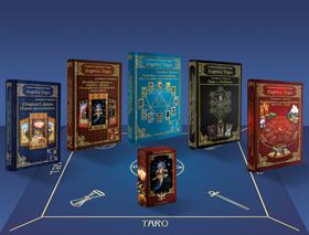 """Набор: 5 книг по Таро + колода Таро """"Алфавит"""" + скатерть - фото 10996"""