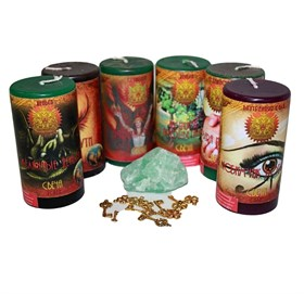 Личные деньги набор из 6 свечей RW - фото 11025