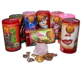 Любовная магия набор из 8 свечей RW - фото 11029