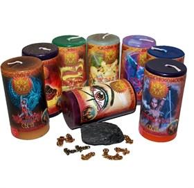 Магические практики набор из 8 свечей RW - фото 11030