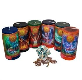 Магическое целительство набор из 6 свечей RW - фото 11031