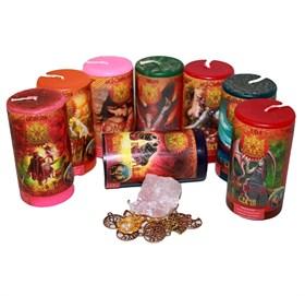 Магия семьи набор из 8 свечей RW - фото 11032