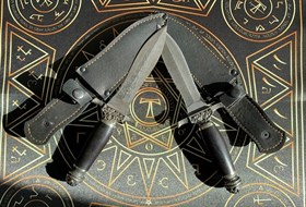 Комплект ритуальных кинжалов - фото 11073