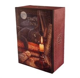 Шкатулка для таро Кот со свечой - фото 11239