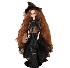 """Кукла - помощница """"Ведьмочка"""" 25 см.на подставке - фото 11262"""