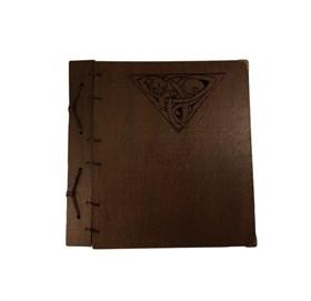 """Книга теней Трикветр """"Кошка"""" в деревянном переплете - фото 11270"""