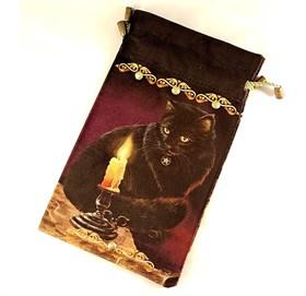"Мешочек для карт таро ""Ведьмин кот"" - фото 12439"