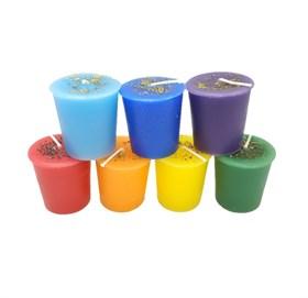 Чакровый набор свечей Колесо жизни - фото 13778