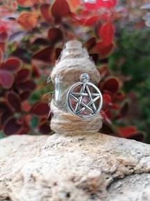 """Ведьмина бутылочка """"Пентаграмма"""" (частичная обмотка) - фото 14171"""