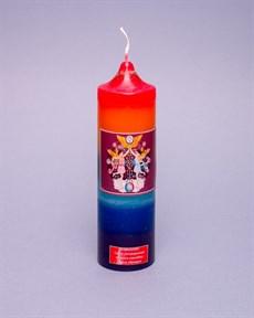 БЛИЗНЕЦЫ  Астральная (зодиакальная) свеча - фото 4442