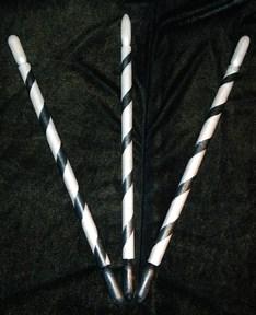 Императрица скипетр (серебро + черный) - фото 4970