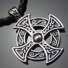 Кельтский солярный крест - фото 5308