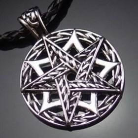 Плетеная пентаграмма - фото 5321