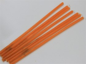 Свеча Вспомогательная восковая - Оранжевая - фото 5401