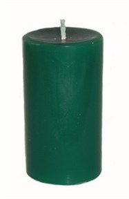 Свеча Обрядово-алтарная - Зеленая - фото 5412