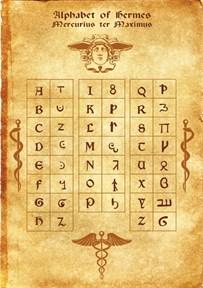 Герметический алфавит - фото 5677