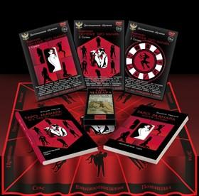 """Набор """"Таро Манара"""" (скатерть+DVD-курс+2 книги+ колода Таро) - фото 6366"""