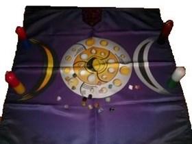 Лунная магия магическая скатерть - фото 6478