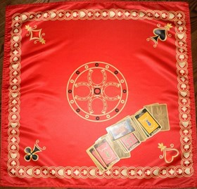На удачу (цыганская) скатерть для таро - фото 6496