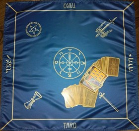 """Скатерь для предсказаний """"Классика Таро"""" - фото 6501"""