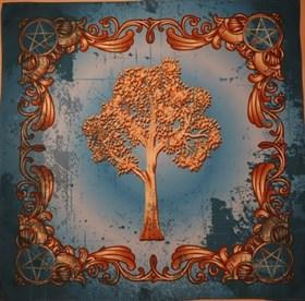 """Скатерть """"Викканское древо - Чистота небес"""" - фото 6520"""