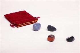 Набор камней Вишудха - фото 6921