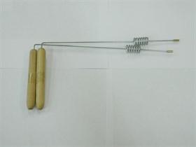 Биолокационная рамка с резонатором, сталь, 1 шт - фото 7404