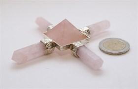 "Пирамида ""Розовый кварц"" - фото 7423"