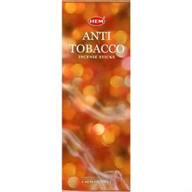 Antitobacco (№11) / Антитабак  благовоние Hem 6-гранки - фото 7522