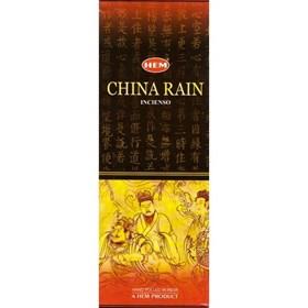 China Rain (№32)/ Китайский дождь благовоние Hem 6-гранки - фото 7536
