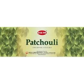 Patchouli (№125)/ Пачули благовоние Hem 6-гранки - фото 7624