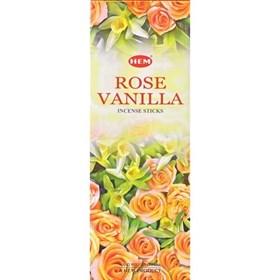 Rose - Vanilla (№146)/ Роза - Ваниль благовоние Hem 6-гранки - фото 7640