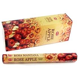 Rose - Apple (№141) / Роза - Яблоко   благовоние Hem 6-гранки - фото 7643