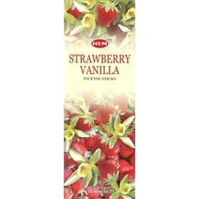 Strawberry - Vanilla (№163)/ Клубника - Ваниль благовоние Hem 6-гранки - фото 7665
