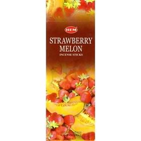Strawberry - Melon (№162) / Клубника - Дыня благовоние Hem 6-гранки - фото 7666