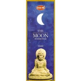 The Moon (№166)/ Луна благовоние Hem 6-гранки - фото 7669