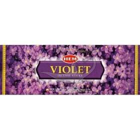 Violet (№174)/ Фиалка благовоние Hem 6-гранки - фото 7674