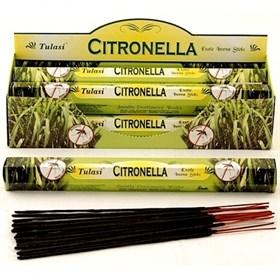 Citronella (№39) / Цитронелла благовоние Tulusi 6-гранки - фото 7693