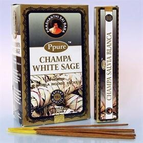 White Sage (Белый шалфей) благовоние Ppure - фото 7734