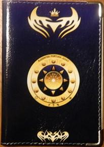 Близнецы - обложка для паспорта женская - фото 7749