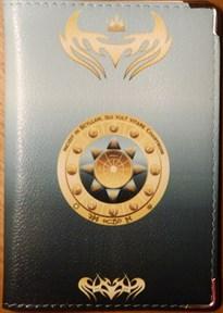 Водолей - обложка для паспорта женская - фото 7750