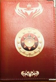 Козерог - обложка для паспорта женская - фото 7752