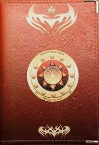 Скорпион - обложка для паспорта женская - фото 7757